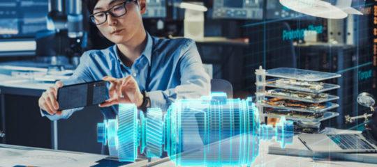 Technologiques des hélices holographiques